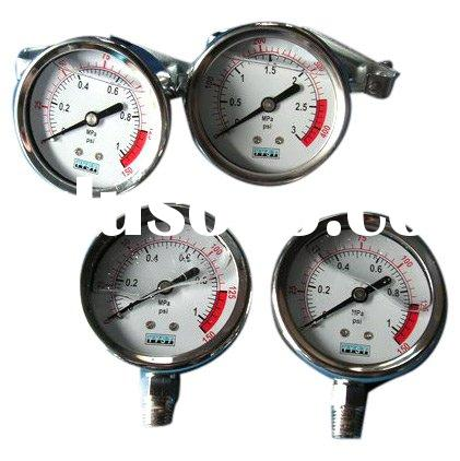 instrument for water treatment plant pressure gauge