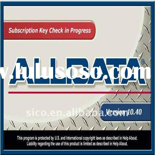latest version alldata auto repair software 2011 with high quality