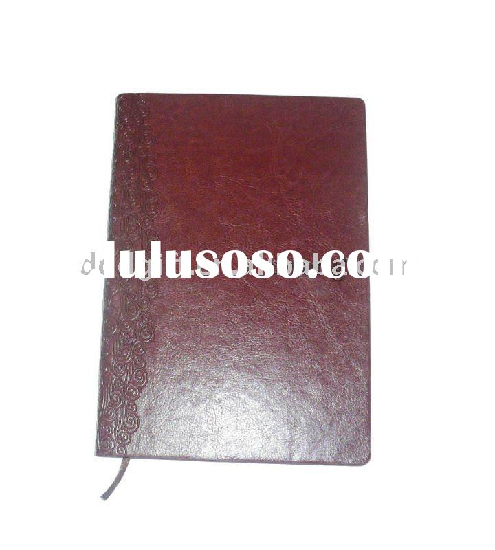 leather cover legal note pad