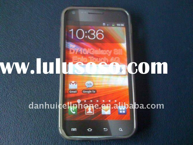 mobile phone tpu case for Samsung Epic 4G Touch Galaxy S II D710
