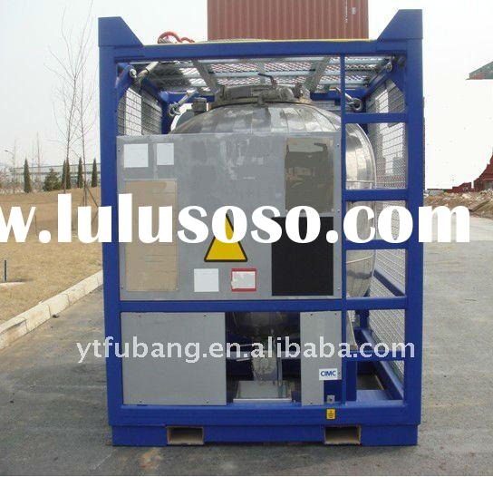 offshore tank with heat insulation for Chemicals