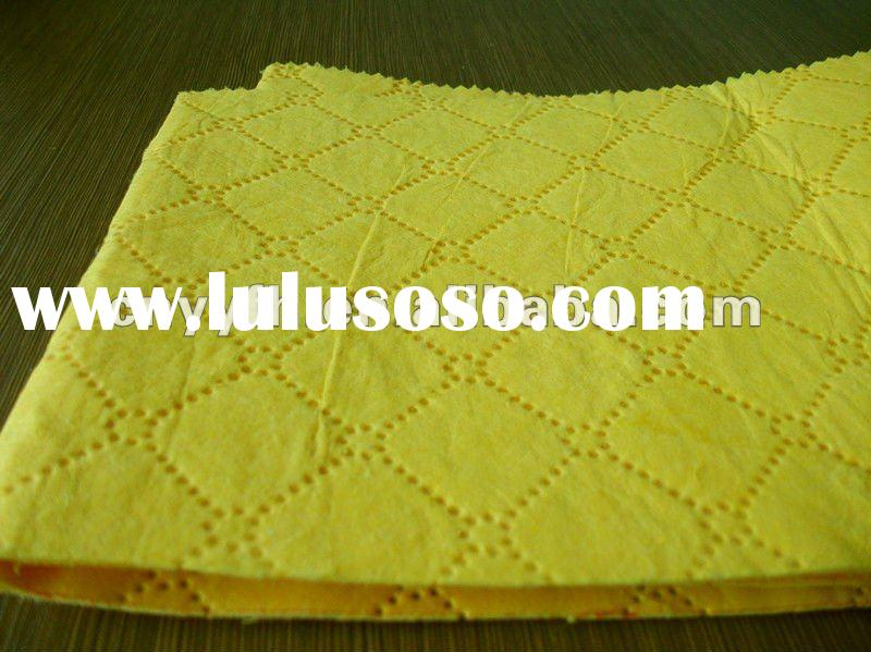 oil chemical absorbent material (pp embossed industrial non woven wipes)
