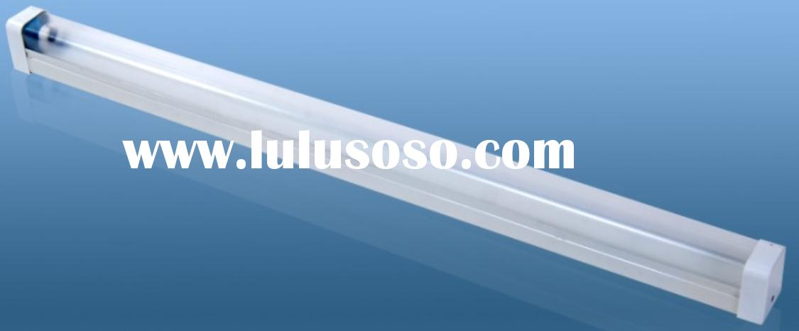 one tube T8 fluorescent lamp fixture with Prism cover