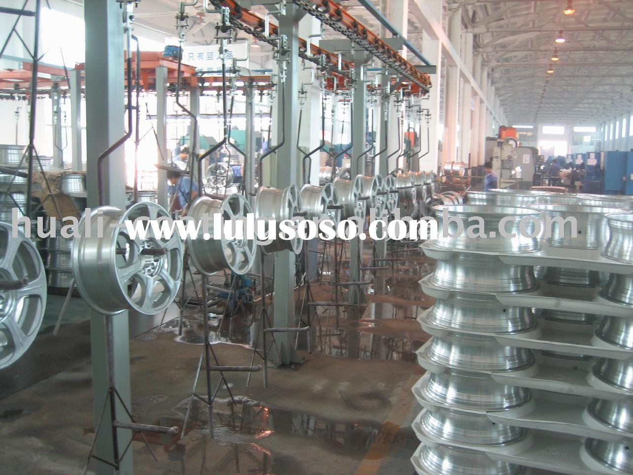 Standard Process Flow Chart Of Huali Powder Coating Line