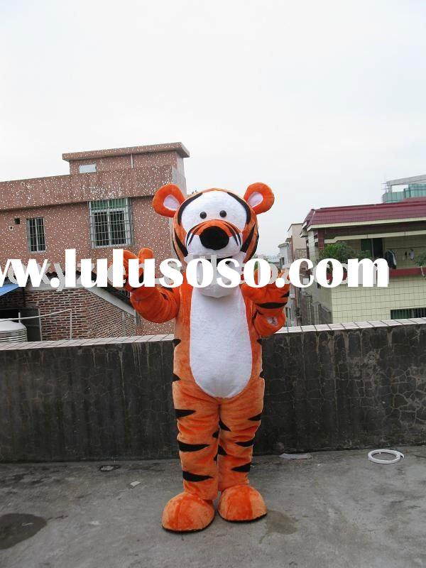 perfect lonly tiger mascot costume
