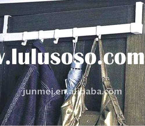 plastic clothes+handbag door hanger hook