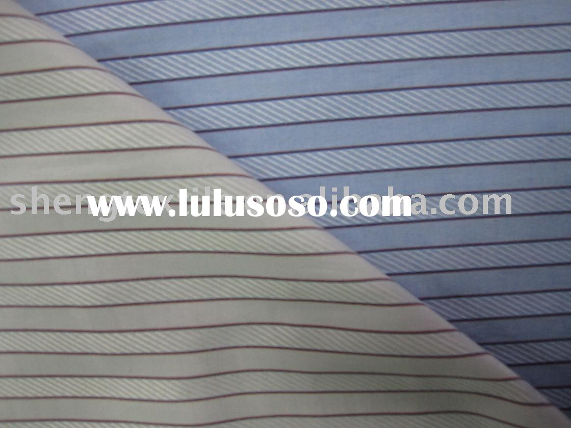 polyester cotton yarn dyed shirt fabric 60%poly 40%cotton