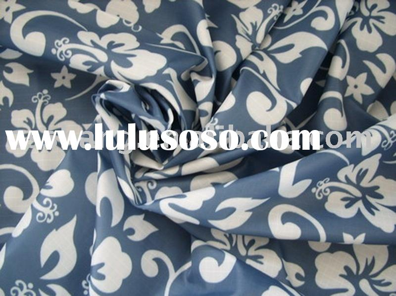 printed nylon taffeta ripstop fabric,Hawaii pattern