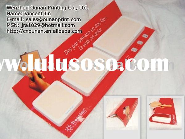 promotional desk top paper sticky note pad