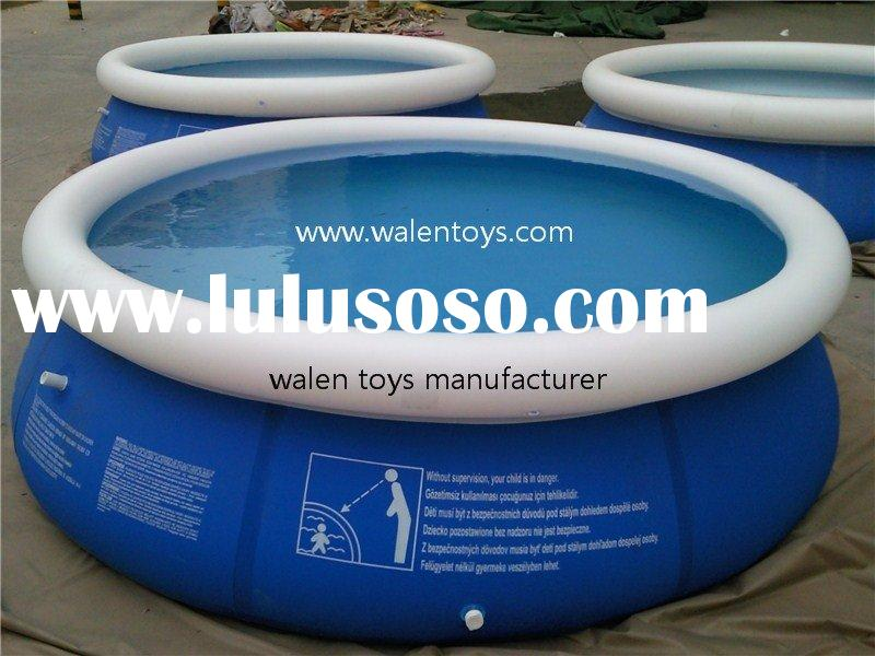 quick-set inflatable pool