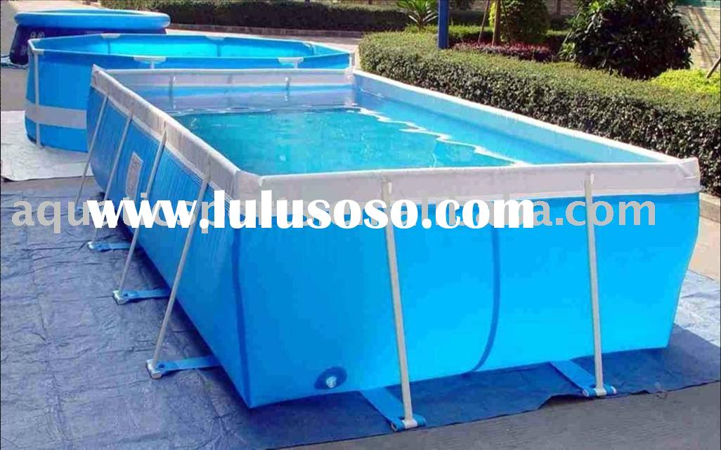 Factory Direct Rectangular Swimming Pool For Swim And Spa For Sale Price Manufacturer