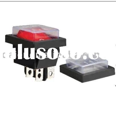 rocker switch protective cover