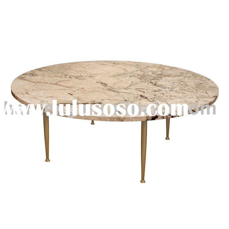French Provincial Coffee Table For Sale: French Provincial Coffee Table With Marble Top,antique
