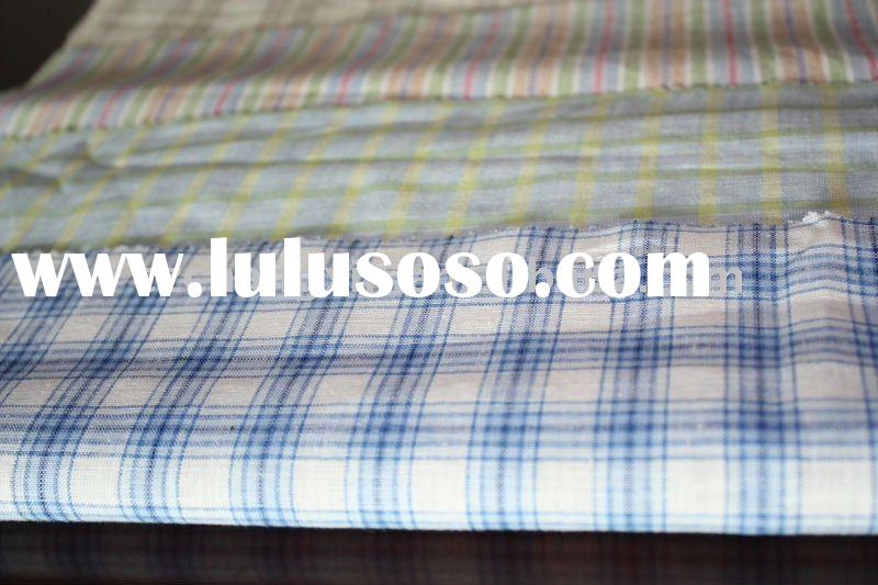 shirt fabric cotton linen fabric