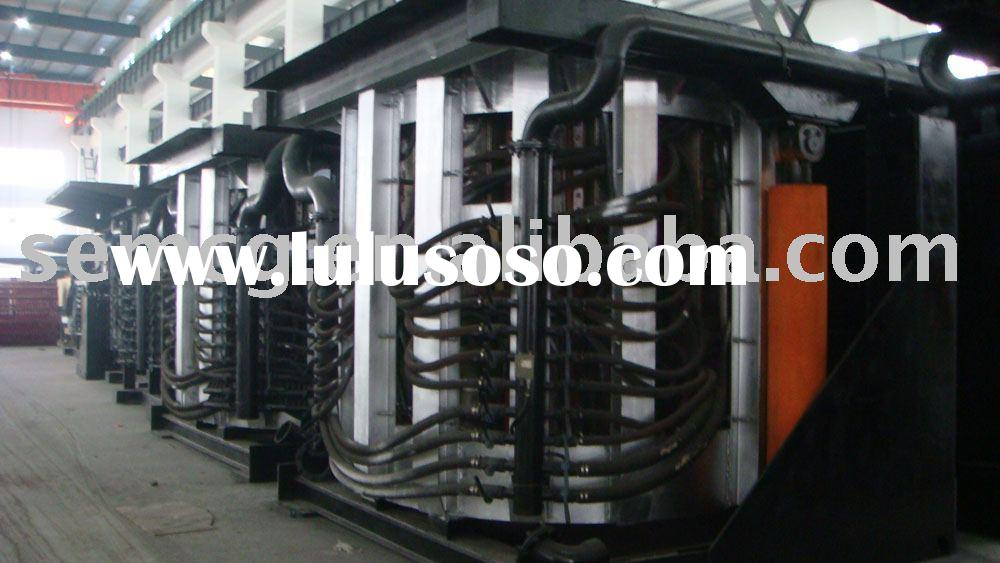 steel melting furnace for steel factory working with continuous casting machine