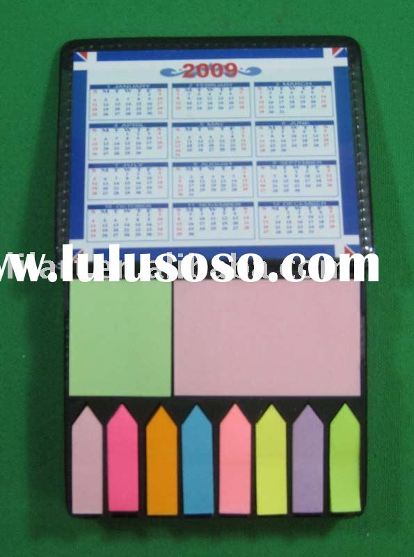sticky note /memo set / promotion gift / memo book with calendar