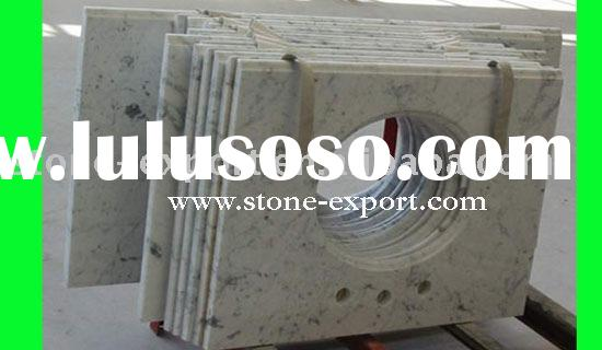supply kashmir white granite vanity top,prefab countertop for kitchen & bathroom