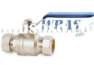 two way full bore brass ball valves for water female connection thread