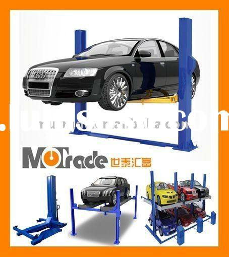 vertical Two Post mechanical Home garage Car Lift