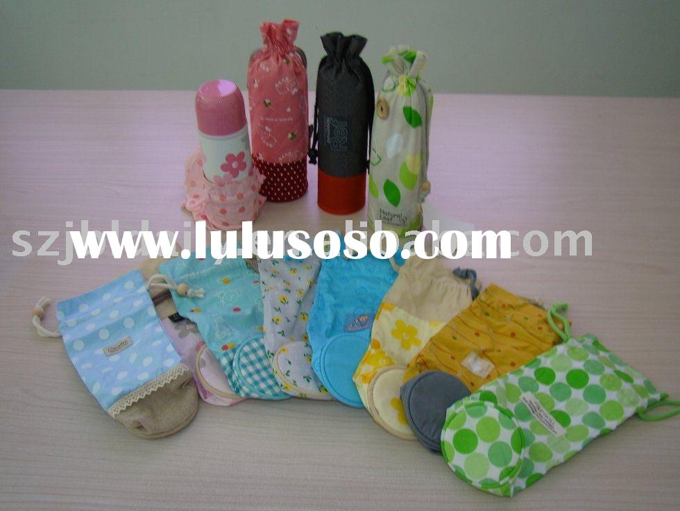 water bottle bag, thermos bottle cover