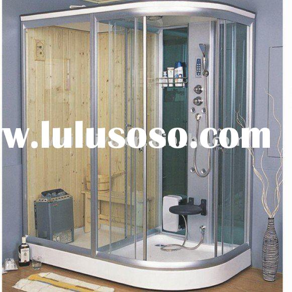 wet and dry steam shower room