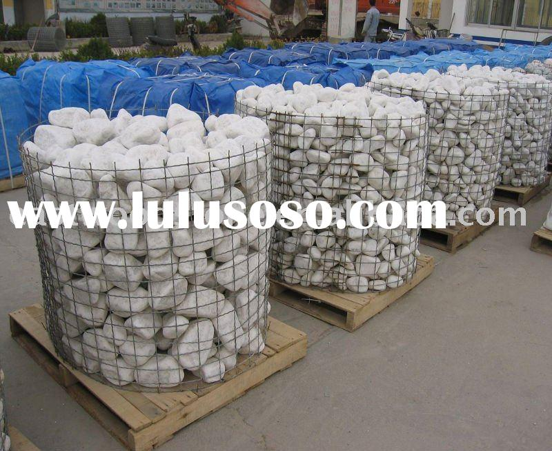 White Granite Landscaping Rock : Granite river rock for sale price china manufacturer