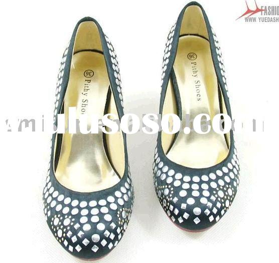 wholesale,Guaranteed 100%,New/special materials,design shoes,women dress shoes,high heel,rubber,for