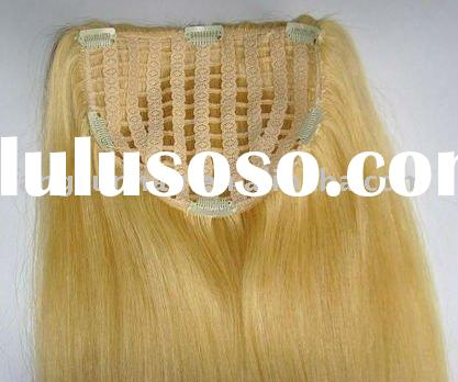 wholesale clips in human hair extension
