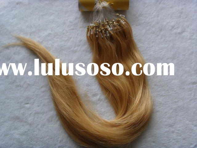 wholesale remy hair extensions/ easy loop human hair extension/ human hair