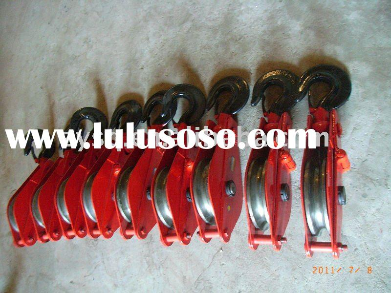 wire rope steel pulley