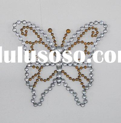 100693EA--Acrylic Diamond Wall Decoration Butterfly