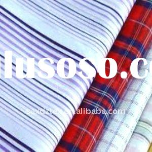 100 COTTON DYED YARN STRIPE FABRICS