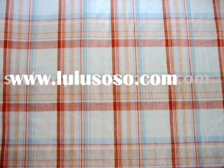 100% Cotton Voile Yarn Dyed Fabric