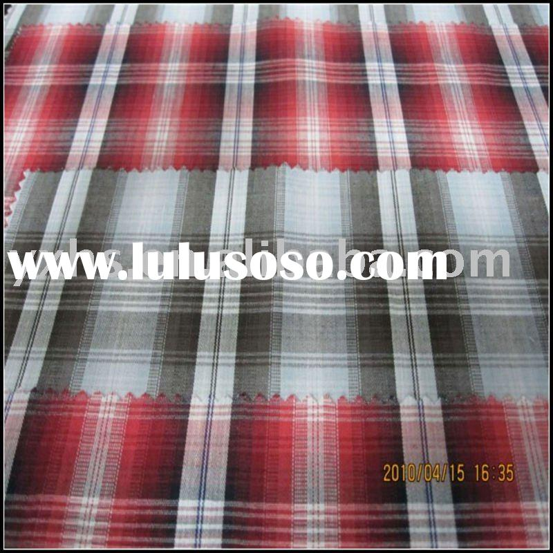100% Cotton Yarn Dyed Fabric