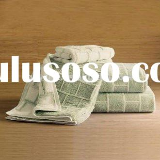 100% Cotton Yarn-dyed Jacquard Bath Towel