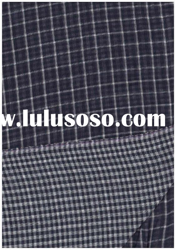 100% ccotton double-layer yarn dyed fabric
