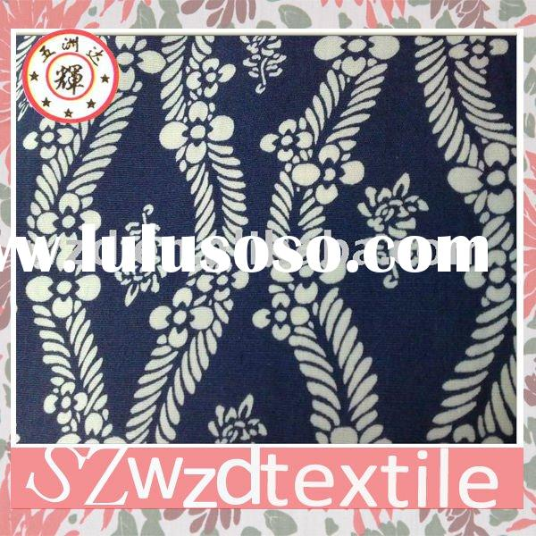 100% cotton cambric printed fabric