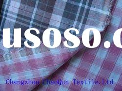 100% cotton fabric/ interlock yarn dyed fabric