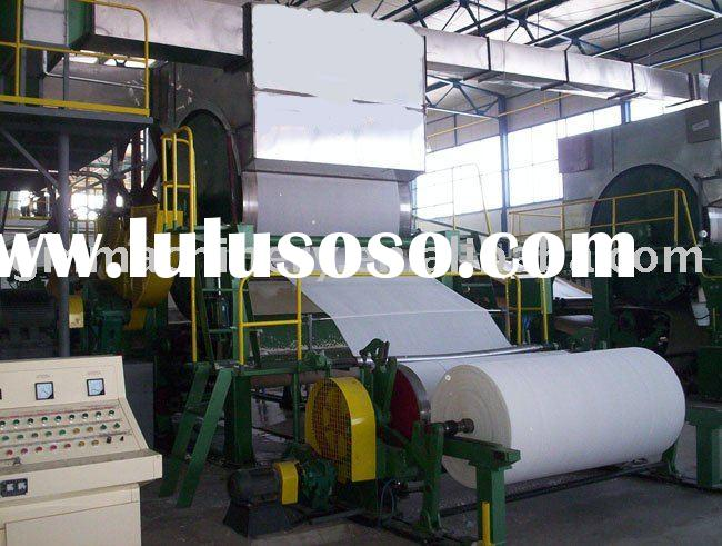 1092mm high speed toilet paper recycle machine