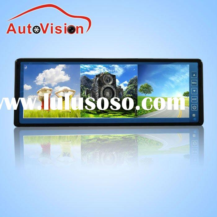 """10.2"""" rearview mirror monitor with Splitter free sample"""