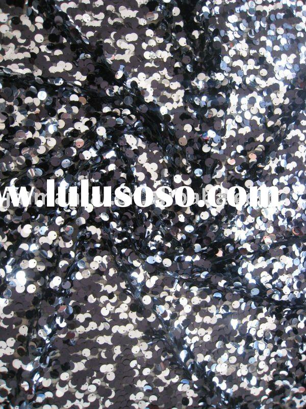 12mm all-over sequin dress fabric
