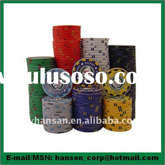 14g clay cheap poker chips
