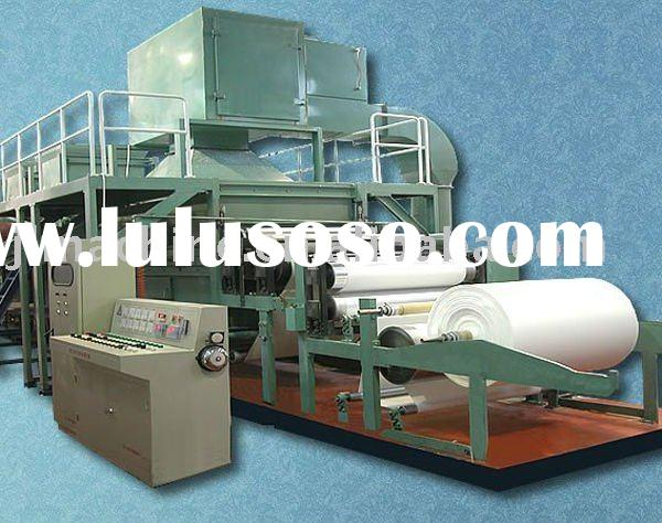 1760type 4tons per day tissue paper machinery