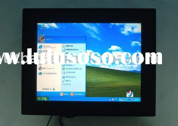 """17"""" Semi-Rugged all in one PC with 5-wire resistive touch screen"""