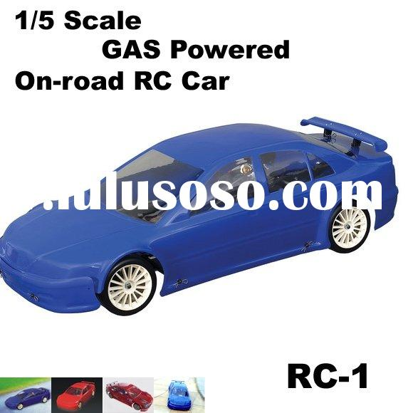 1/5 Scale Gas Powered On-Road RC CAR