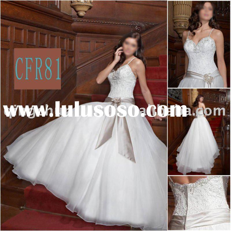 2010 most famous style wedding dress CFR81