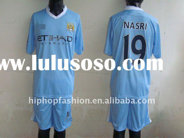 2011-2012 season manchester city home soccer jersey