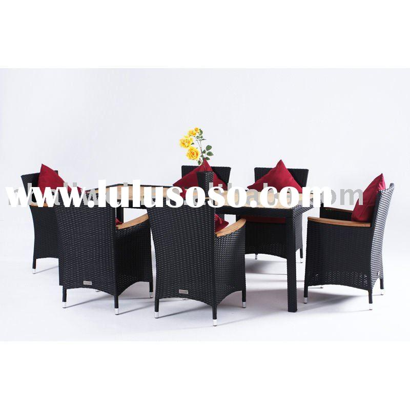 2011- 7PCS RATTAN DINING SET-AWRF6122,UV set