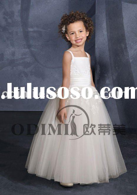 2011 Charming Ball Gown Flower Girl Dress
