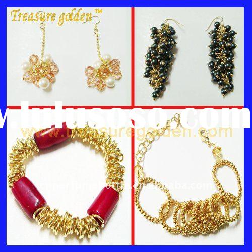 2011 Fashion Jewelry Newsest Earring , Necklace , Hair accessory, Buckle